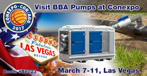 Visit us at Conexpo Las Vegas March 7-11