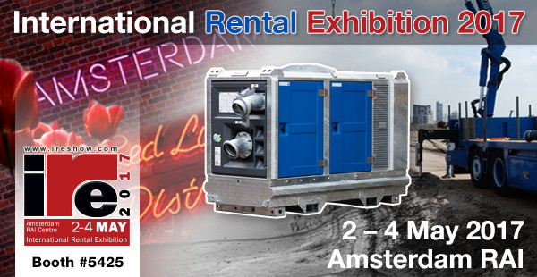 BBA Pumps at Internationa Rental Exhibition