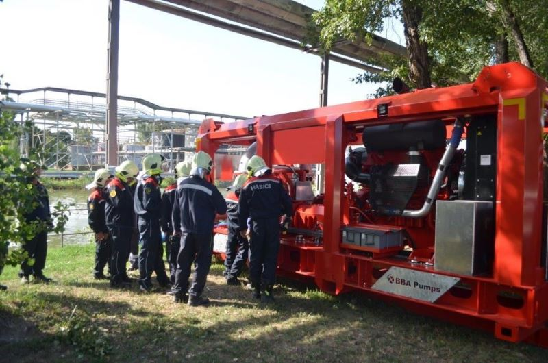 Unidad móvil contra incendios | BBA Pumps