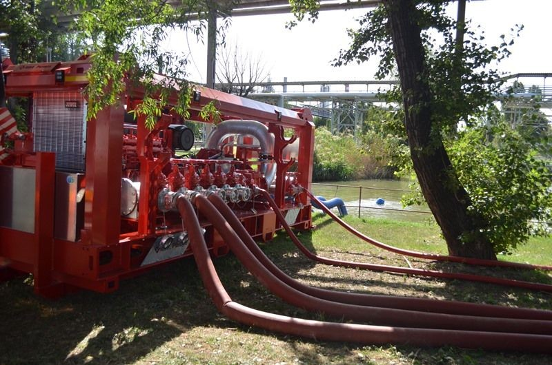 Unidad móvil contra incendios, bba pumps