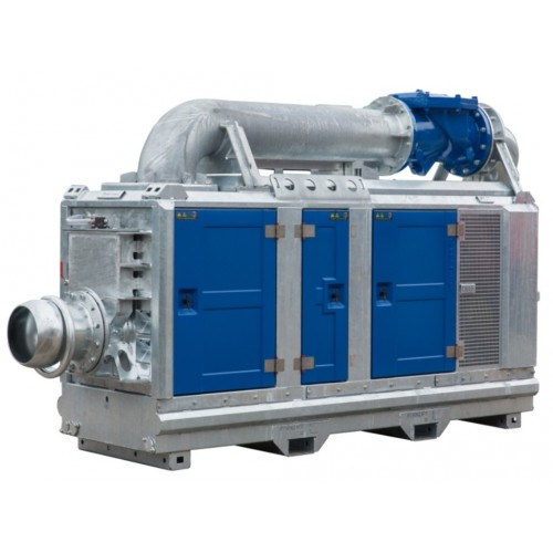Ba300e D328 Diesel Driven Dewatering Pump In Sound