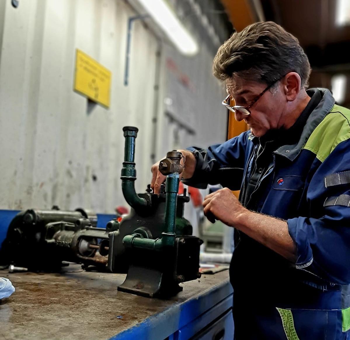 BBA Pumps pump service technician