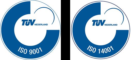 Společnost BBA Pumps je certifikovaná podle norem ISO 9001 a ISO 14001.